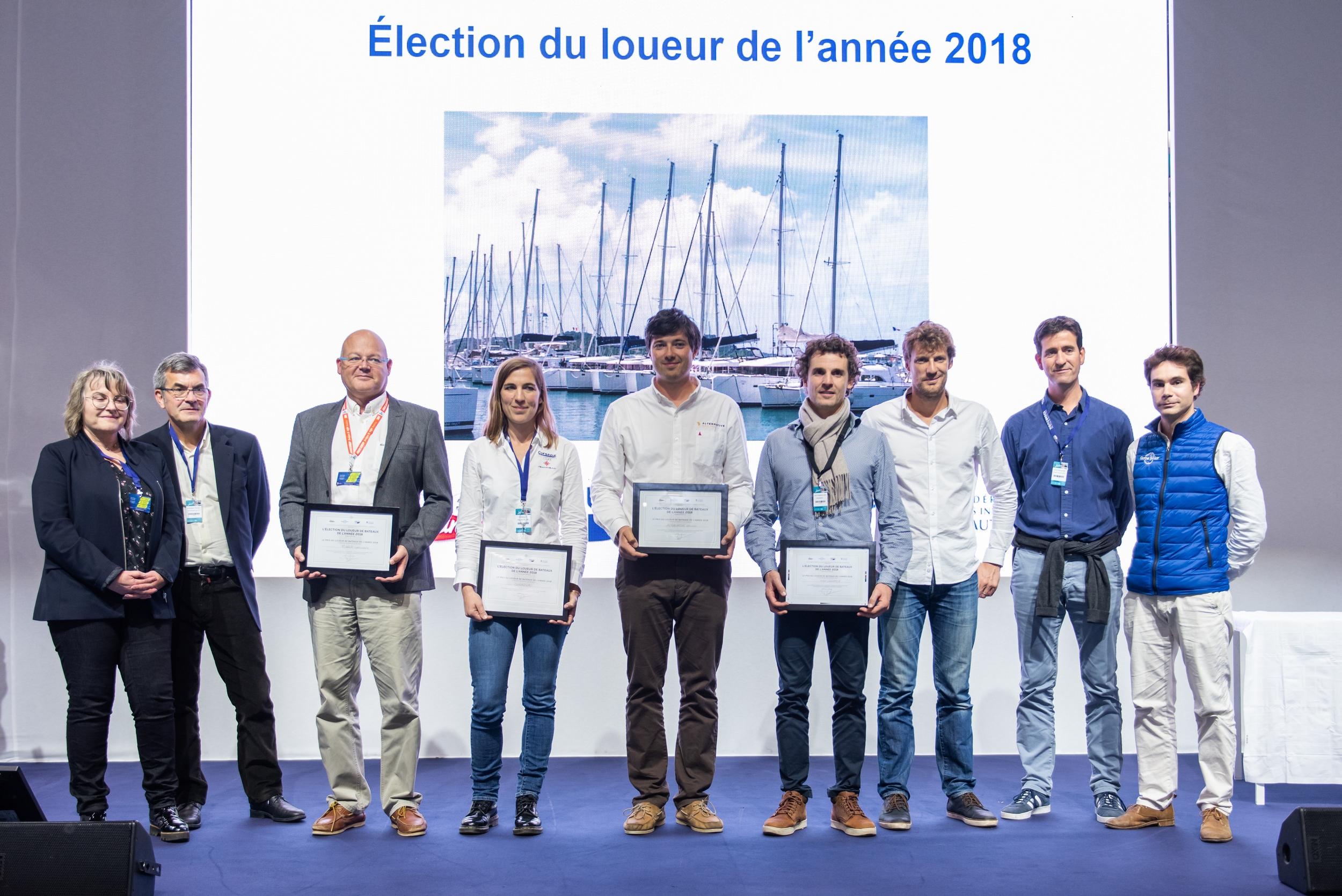 Élection du Loueur de Bateaux de l'Année 2018 : l'excellence des professionnels récompensée